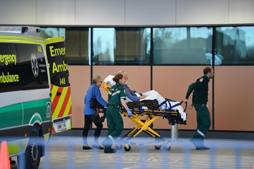 Royal Adelaide Hospital Emergency entrance