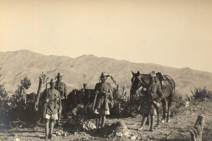 2nd/5th Royal Gurkha Rifles, North-West Frontier, 1923.