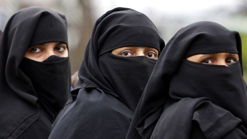 Are these women wearing the burka?