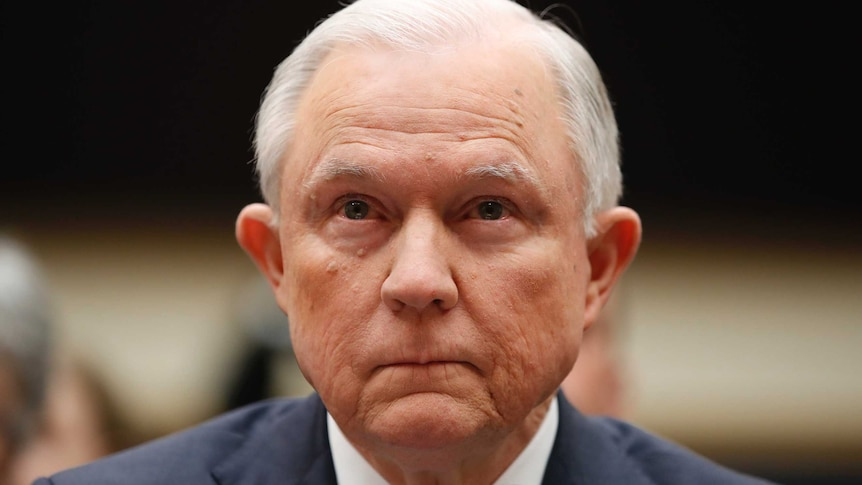 Jeff Sessions faced a tough line of questioning from committee Democrats. (Phot: AP/Alex Brandon)