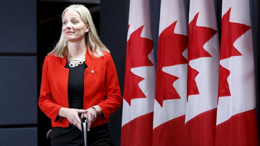 Canada's Environment Minister Catherine McKenna