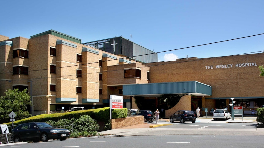 The Wesley Hospital in Brisbane.