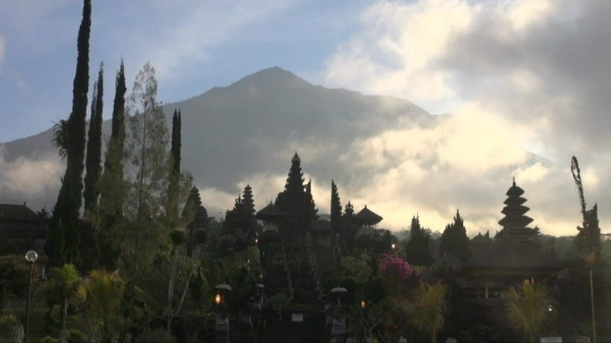 Hundreds of tremors each day are shaking Bali's enormous volcano, Mount Agung