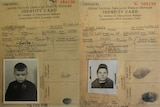 Identity cards for Edward and Maria Golec after arriving in Australia from Poland