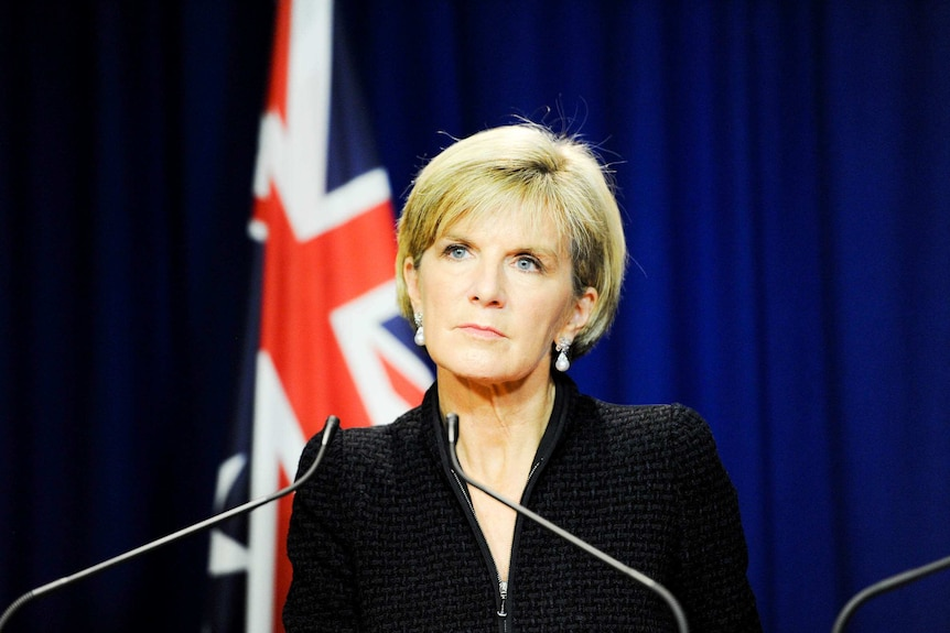 Ms Bishop said she was considering declaring more areas where Islamic State is involved in hostilities off limits.