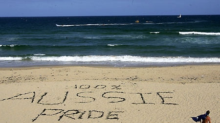 Warning heeded: There is no sign of further violence at Cronulla Beach. [File photo]