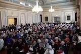 East coast community meeting at Hobart Town Hall