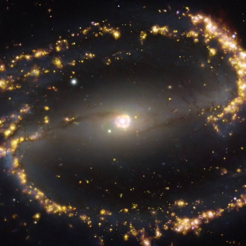 Image of spiral arm galaxy