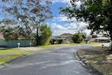 A suburban street