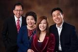 Parramatta shooting victim Curtis Cheng and family