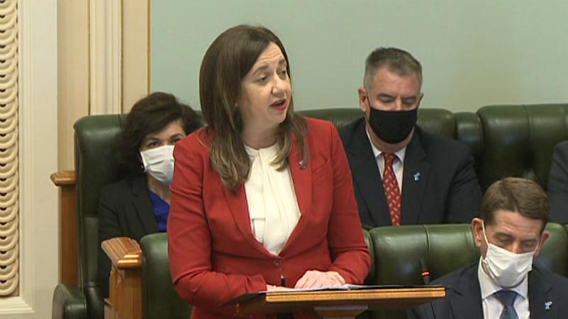 Queensland Premier Annastacia Palaszczuk speaks about COVID-19 in Parliament