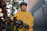A delivery driver