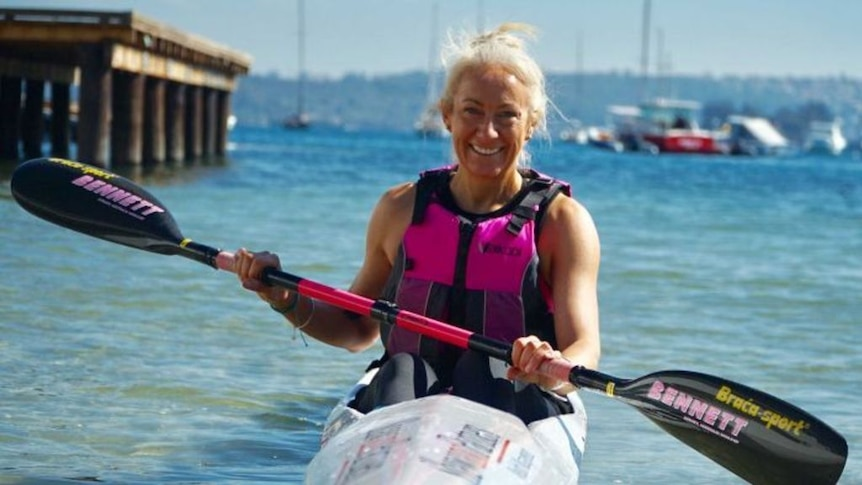 Sarah Davis will attempt to kayak the length of the Nile River in Africa. (Photo: Taryn Southcombe)