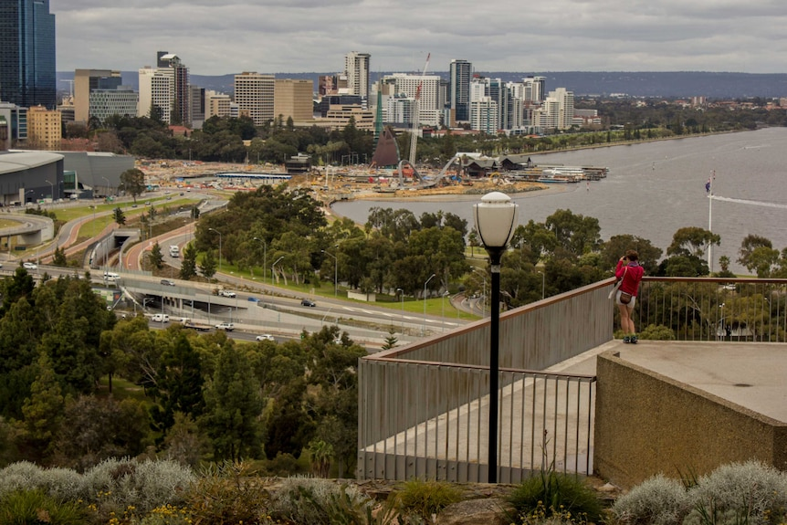 Six million people visit Kings Park every year.