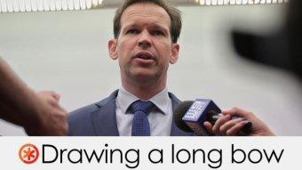 Matt Canavan's claim is drawing a long bow