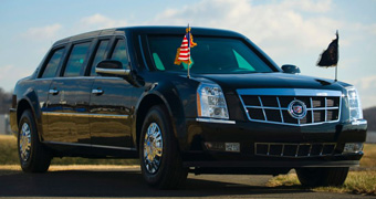 Obama's car the beast