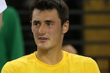 Tomic and Masur look on after Davis Cup loss