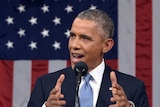 US President Barack Obama delivers his State of the Union address