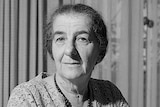 Golda Meir, the first female prime minister of Israel, photographed in 1964.