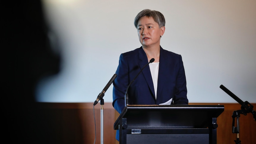 Penny Wong accuses Scott Morrison of stoking China tensions for political gain – ABC News