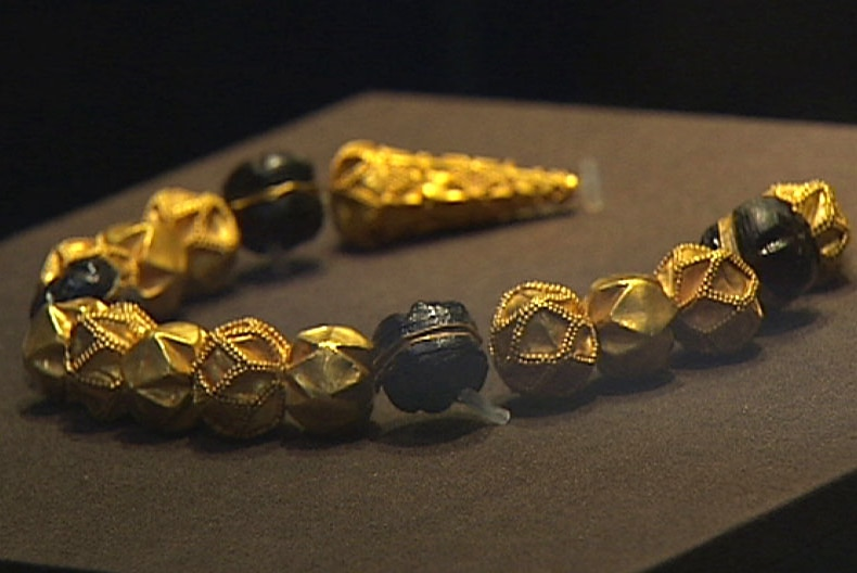 An ancient artefact from Afghanistan is on display at the WA Museum.