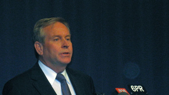 Colin Barnett says miners can start searching for and mining uranium from today.