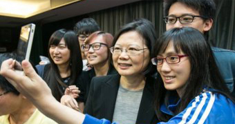 Tsai Ing-wen's ascendency drew help from digital-savvy Taiwanese youth.