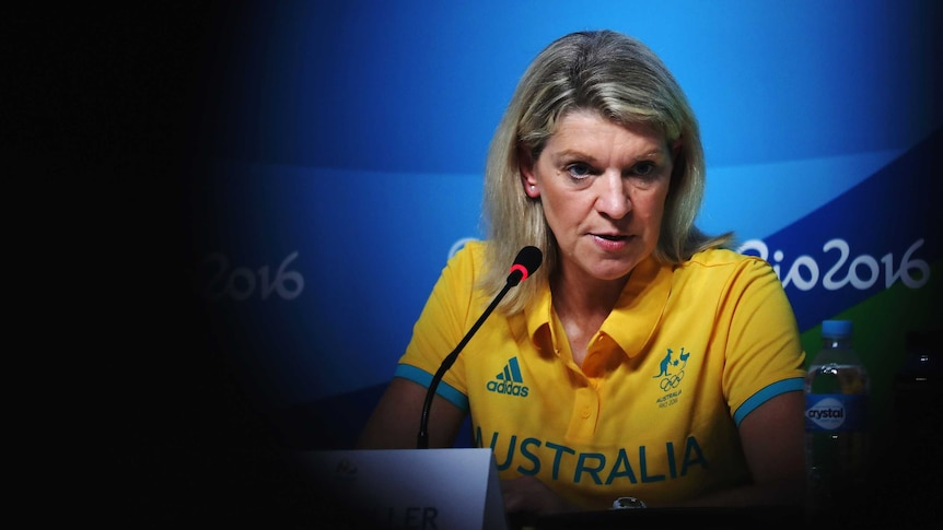 Kitty Chiller at press conference