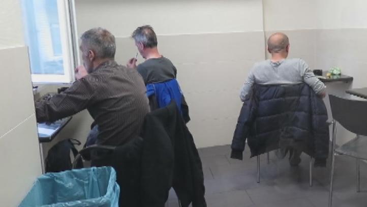 Ice smokers in Bern