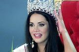 Monica Spear after being elected Miss Venezuela in September, 2004.