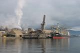 Wharf at Nyrstar zinc works Hobart