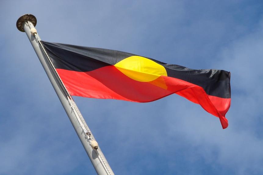 NAIDOC Aboriginal Flag Flying