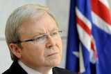 Mr Rudd says any progress made through talks in the US and London will help the local economy.