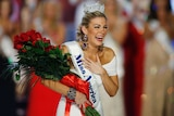 Miss New YorkMalloryHytesHaganreacts as she is crowned Miss America 2013 in Las Vegas, 2013.