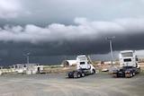 Thunderstorm looms over Mackay