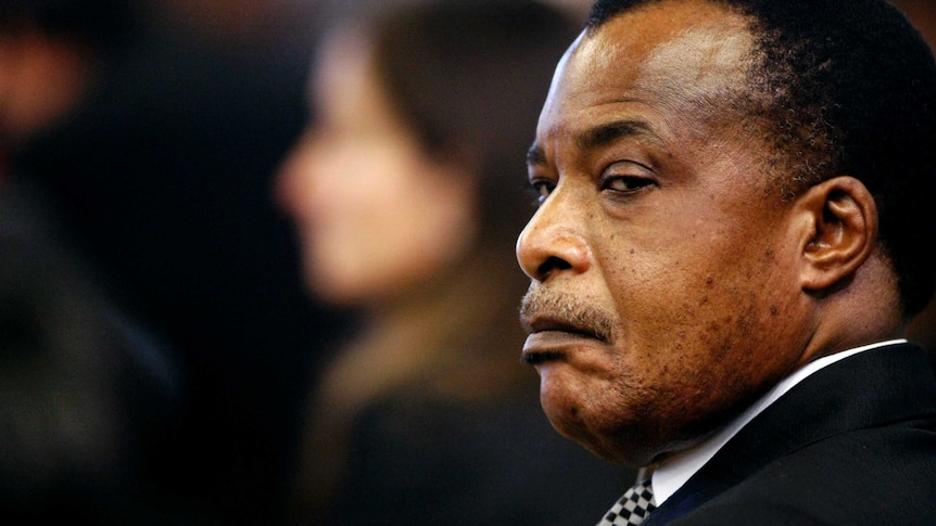 The Republic of the Congo's Denis Sassou Nguesso
