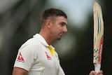 Australia's Shaun Marsh retires after reaching a century in tour match against Derbyshire.