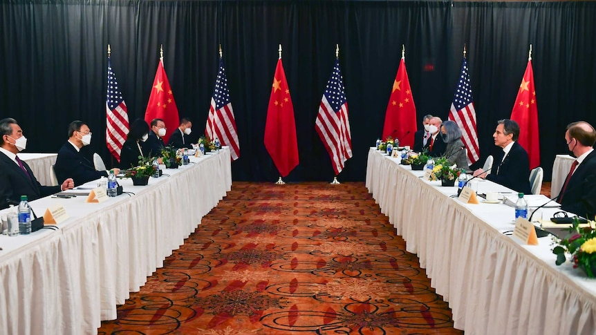 US and China complete 'tough and direct' talks in Alaska – ABC News