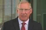 TV still of Qld Deputy Premier Jeff Seeney in Brisbane. Thur Feb 27, 2014