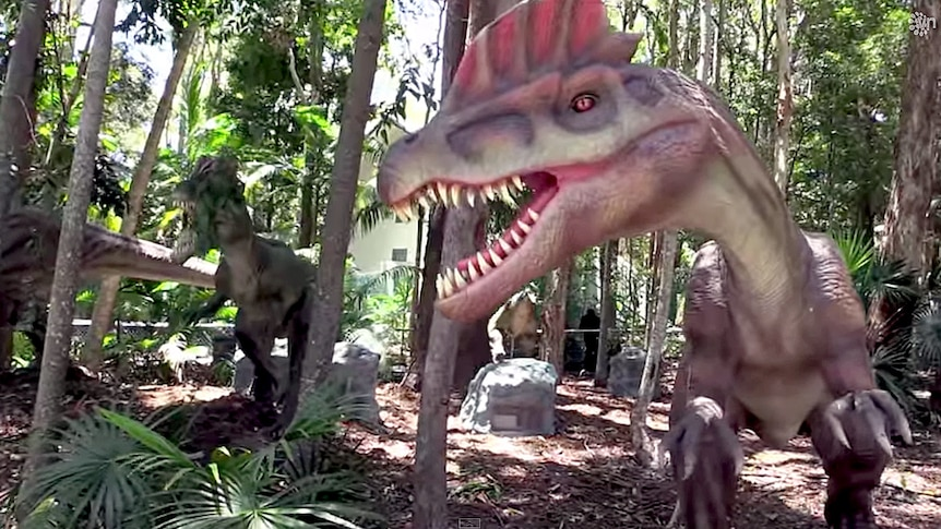Dinosaurs throughout Palmersaurus