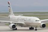 An Etihad Airways A330-200