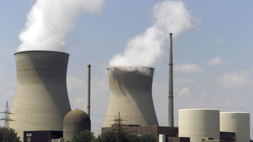 A nuclear power plant in Germany.