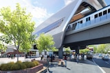 Proposed design for Murrumbeena Station sky rail