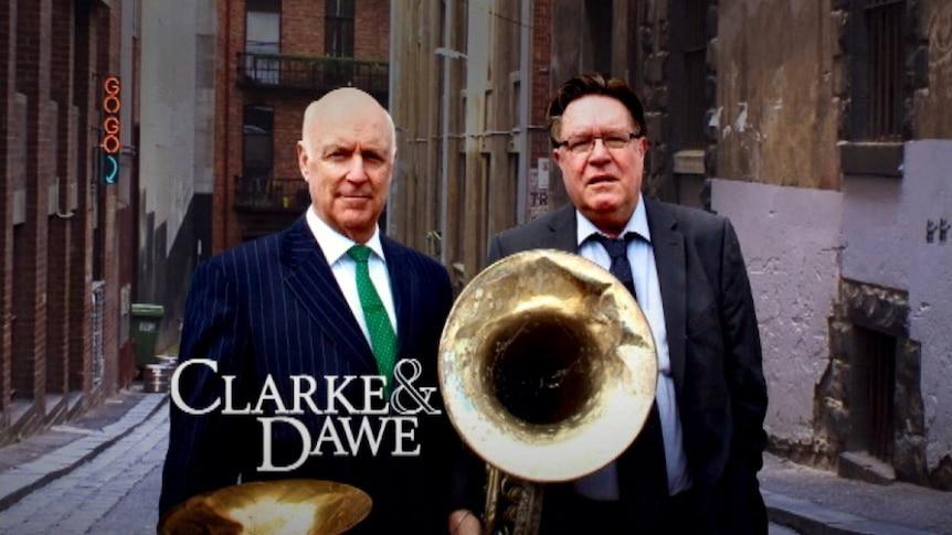 Clarke and Dawe: Arthur struggles here, even on very familiar ground