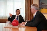 Prime Minister Malcolm Turnbull with Chinese Premier Li Keqiang