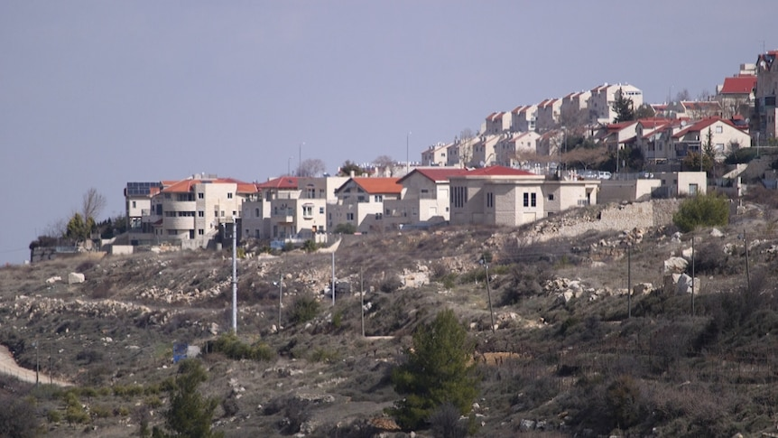 Settlements in occupied West Bank