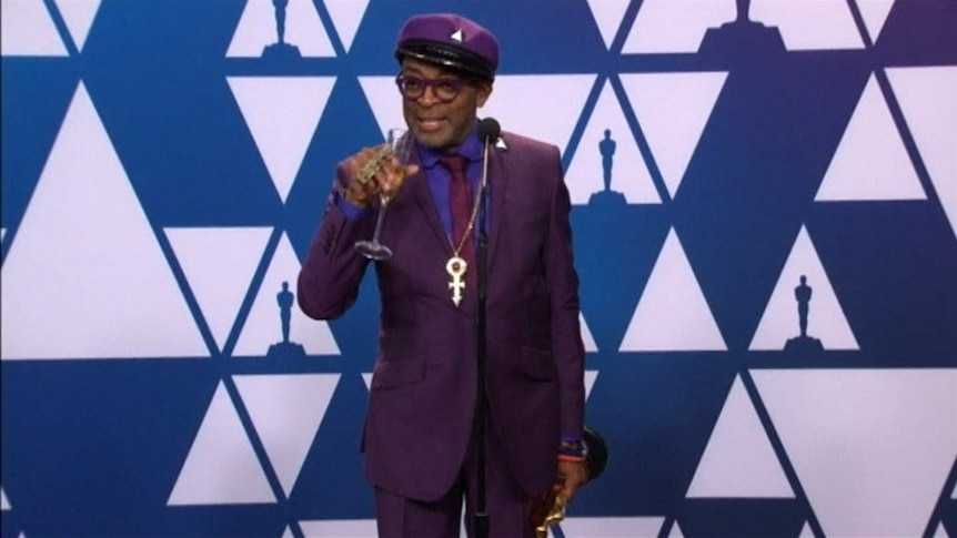 """Spike Lee says """"the ref made a bad call"""" after Green Book Oscars win."""