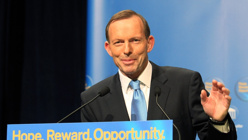 Australian Opposition Leader Tony Abbot is visiting China