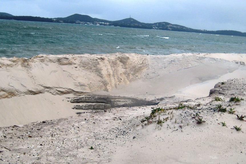 Jimmys Beach erosion