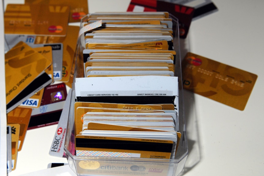 AFP officers found more than 10,000 credit cards and sophisticated card manufacturing equipment.